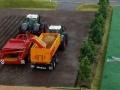 Traktorado 2014 in Husum - Zwei Fendt Traktoren bei der Kartoffelernte