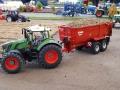 Traktorado 2015 - Fendt 828 Vario mit Krampe Kipper