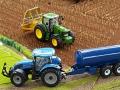 Traktorado 2015 - Fasswagen blau