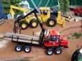 Traktorado 2015 - Komatsu Holztransporter