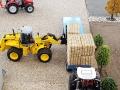 Traktorado 2015 - Strohballen abladen