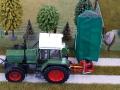 Traktorado 2015 - Fendt Traktor mit Heckmähwerk