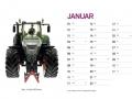 Treckersammlung Kalender 2016 - Januar