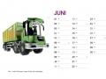 Treckersammlung Kalender 2016 - Juni