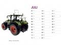 Treckersammlung Kalender 2016 - Juli