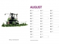 Treckersammlung Kalender 2016 - August