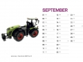 Treckersammlung Kalender 2016 - September
