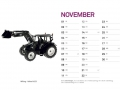 Treckersammlung Kalender 2016 - November