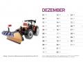 Treckersammlung Kalender 2016 - Dezember