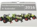 Treckersammlung Kalender 2016