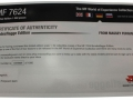 Universal Hobbies 2547 - Massey Ferguson 7624 Deutschland Bundesflagge Zertifikat hinten