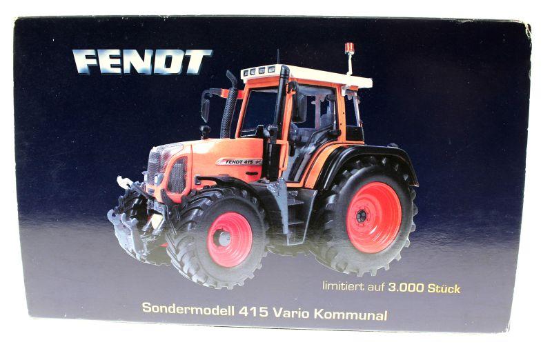 Universal Hobbies 2765 - Fendt 415 Vario Kommunal Karton hinten