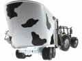 UH 2931 und 4182 - Valtra N142 Peecon Biga Cow Edition Kuhflecken unten hinten