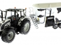 UH 2931 und 4182 - Valtra N142 Peecon Biga Cow Edition Kuhflecken vorne links