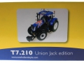 Universal Hobbies 4045 - New Holland T7210 Union Jack Edition GB Flagge Karton hinten
