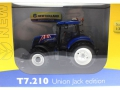 Universal Hobbies 4045 - New Holland T7210 Union Jack Edition GB Flagge Karton vorne