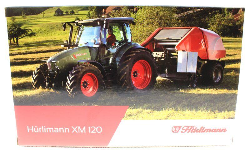 Universal Hobbies 4227 - Hürlimann XM 120 Karton hinten