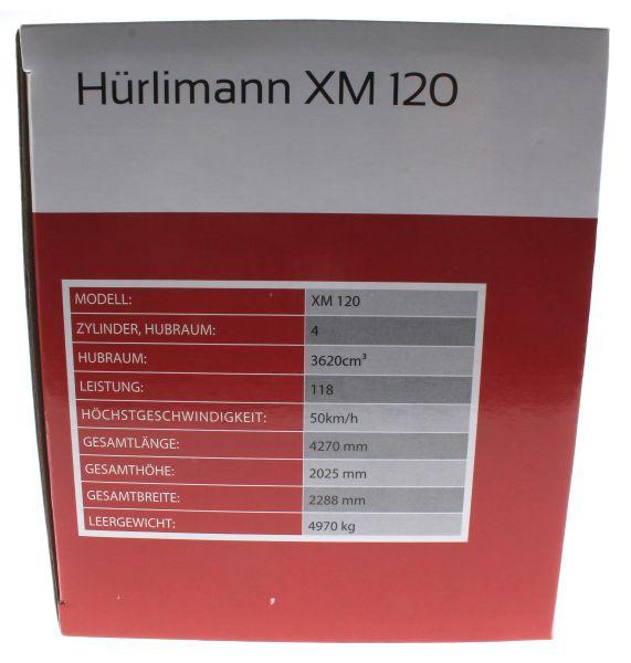 Universal Hobbies 4227 - Hürlimann XM 120 Karton Seite