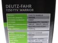 Universal Hobbies 4917 - Deutz-Fahr 7250 TTV Warrior Karton Seite