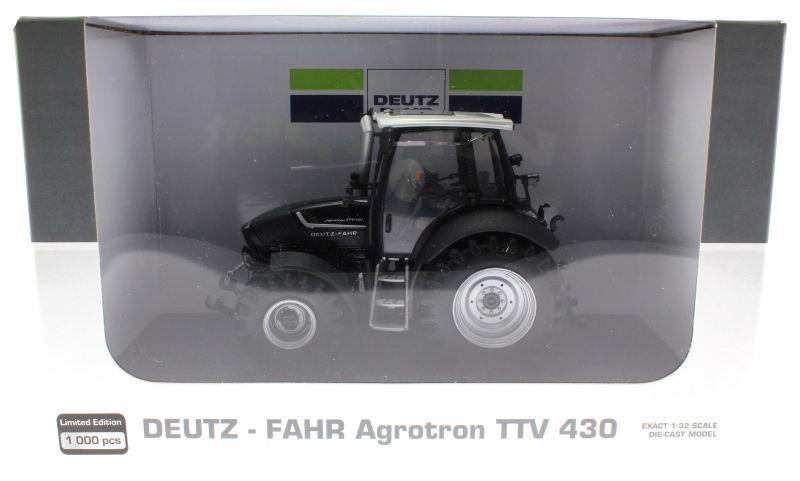Universal Hobbies 4256 - Deutz-Fahr Agrotron TTV 430 Black Edition Karton vorne