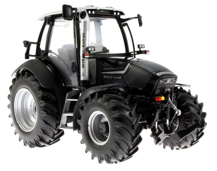 Universal Hobbies 4256 - Deutz-Fahr Agrotron TTV 430 Black Edition unten vorne rechts