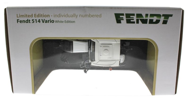 Universal Hobbies 4937 - Fendt 514 Vario White Edition Karton oben