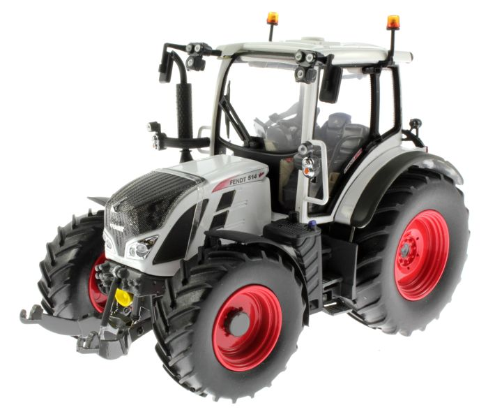 Universal Hobbies 4937 - Fendt 514 Vario White Edition vorne links
