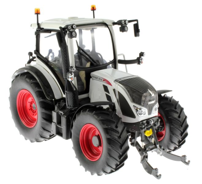 Universal Hobbies 4937 - Fendt 514 Vario White Edition vorne rechts