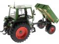 weise-toys 1008 - Fendt Geräteträger 360 GT hinten rechts gekippt