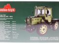 Weise-Toys 1016 - MB-trac 1100 mit Pflegerädern Karton hinten
