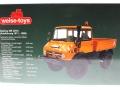 Weise-Toys 1105 - Unimog 406 Kommunal Karton hinten
