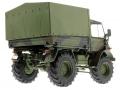 Weise-Toys 2026 - Unimog 406 (U84) Bundeswehr Flecktarn hinten rechts