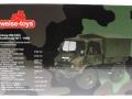 Weise-Toys 2026 - Unimog 406 (U84) Bundeswehr Flecktarn Karton hinten