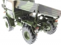 Weise-Toys 2026 - Unimog 406 (U84) Bundeswehr Flecktarn Ladefläche hinten links