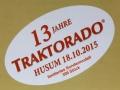 weise-toys 2033 - Traktorado 2015 MB trac 1000 Stotz Handewitt mit Zwillingsreifen Karton Logo