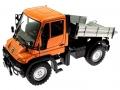 Welly 32380F-2GA - Mercedes Benz Unimog U400 Orange gekippt vorne
