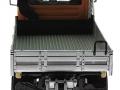 Welly 32380F-2GA - Mercedes Benz Unimog U400 Orange hinten