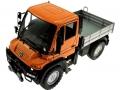 Welly 32380F-2GA - Mercedes Benz Unimog U400 Orange oben vorne links
