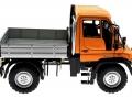 Welly 32380F-2GA - Mercedes Benz Unimog U400 Orange rechts