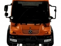 Welly 32380F-2GA - Mercedes Benz Unimog U400 Orange vorne
