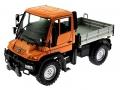 Welly 32380F-2GA - Mercedes Benz Unimog U400 Orange vorne links