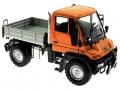 Welly 32380F-2GA - Mercedes Benz Unimog U400 Orange vorne rechts