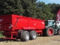 Sierhagen 2016 - Bundesentscheid Pflügen - Fendt Traktor mit Krampe Kipper von hinten