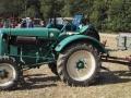 Sierhagen 2016 - Bundesentscheid Pflügen - Klassischer Traktor grün