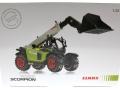 Wiking 01704010 - Claas Scorpion 7055 Teleskoplader SIMA Sondermodel Karton vorne