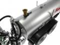 Wiking 077338 - Fliegl Vakuumfasswagen mit Güllegrubber Füllstutzen