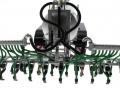 Wiking 077338 - Fliegl Vakuumfasswagen mit Güllegrubber hinten