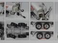 Wiking 077338 - Fliegl Vakuumfasswagen mit Güllegrubber Karton innen