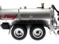 Wiking 077338 - Fliegl Vakuumfasswagen mit Güllegrubber links