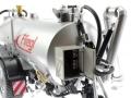Wiking 077338 - Fliegl Vakuumfasswagen mit Güllegrubber Schaltkasten offen